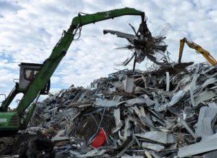 scrap metal hauler