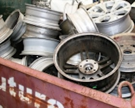 Sell my scrap Aluminium Cast Wheel Rims